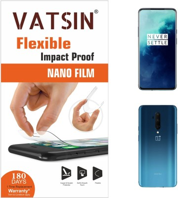 Vatsin Nano Glass for OnePlus 7T Pro(Pack of 2)