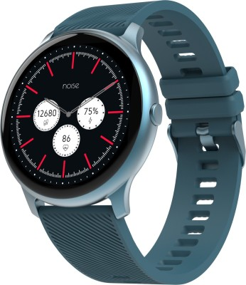 NoiseFit Evolve Smartwatch(Blue Strap, Regular)