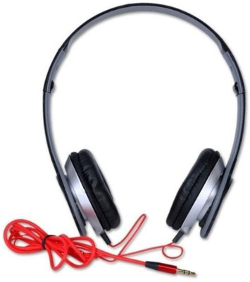 TECHOMANIA Top Selling Best quality Foldable Wired Stereo DJ Headphone Wired Headset(Black, On the Ear)
