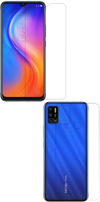 Fashion Way Front and Back Screen Guard for TECNO SPARK 6 AIR(Pack of 2)