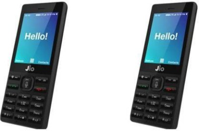 ROCKJON Screen Guard for JIO PHONE(Pack of 2)