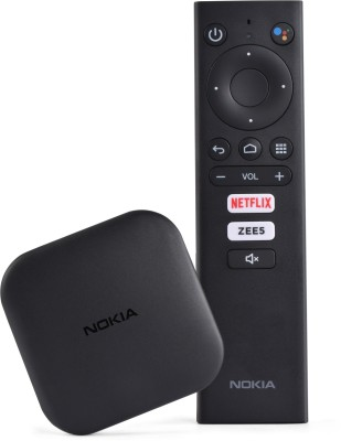 Nokia Media Streamer with Built- In Chromecast(Black)