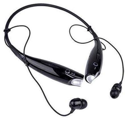 SULFUR Flexible Wireless vi.vo/op.po Headset good quality neckband Bluetooth Headset(Black, In the Ear)