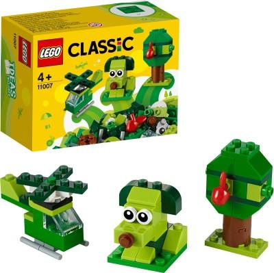 LEGO Creative Green Bricks Multicolor LEGO Blocks   Building Sets