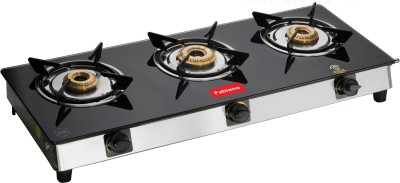 Fabiano Stainless Steel Manual Gas Stove(3 Burners)