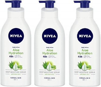 NIVEA Body Lotion, Aloe Hydration(1800 ml)