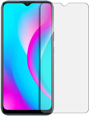 Fovtyline Tempered Glass Guard for Realme C15(Pack of 1)