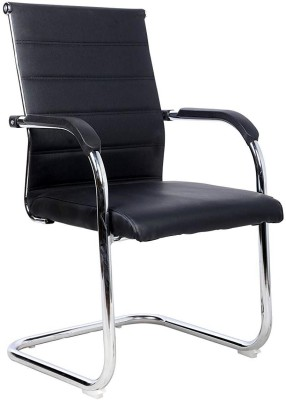 GTB Fabric Office Visitor Chair(Black)