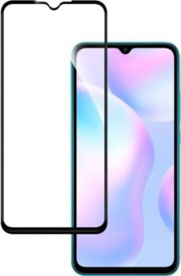 BIZBEEtech Edge To Edge Tempered Glass for Mi Redmi 9, Mi Redmi 9A, Mi Redmi 9i, Poco C3, Poco M2, Mi Redmi 9 Prime(Pack of 1)