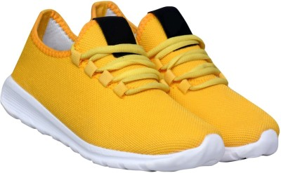 Begone Running Shoes For Men Yellow Begone Sports Shoes