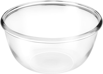 TREO Mixing Bowl 1500 Glass Serving Bowl(Clear, Pack of 1)