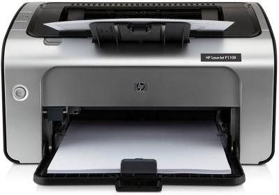 HP LaserJet Pro P1108 Single Function Monochrome Laser Printer Black, White, Toner Cartridge HP Single Function Printers