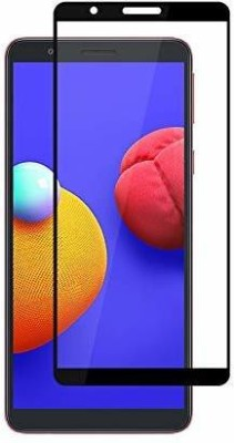 Kavacha Edge To Edge Tempered Glass for Samsung Galaxy M01 Core(Pack of 1)