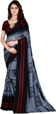 Leelavati Printed Daily Wear Georgette Saree(Multicolor)
