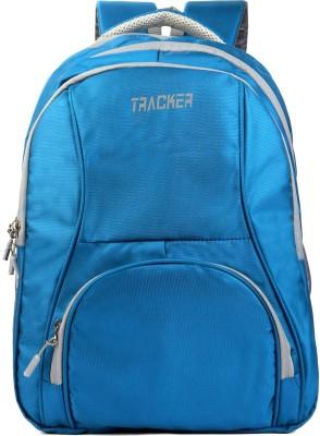 Tracker Sky Blue 30L Casual and School Bag Pack 30 L Laptop Backpack Blue Tracker Backpacks