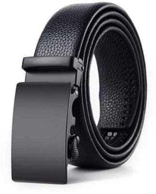 Elite Crafts Men & Women Casual, Party, Formal, Evening Black Artificial Leather Belt