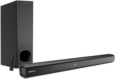 Zebronics Juke Bar 3900 80 W Bluetooth Soundbar(Black, 2.1 Channel)