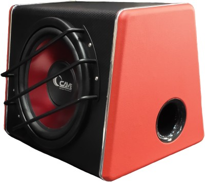 Cave RJ-1012 Car 10-Inches Active Subwoofer With Mono Inbuilt Amplifier Professional Production High Quaity.. Subwoofer(Powered , RMS Power: 250 W)