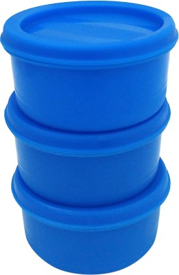 PRINCEWARE - 100 ml Plastic Grocery Container(Pack of 3, Blue)