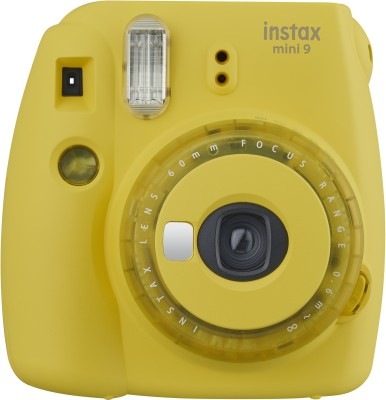 FUJIFILM Instax Mini 9 Instant Camera Yellow FUJIFILM Instant Cameras