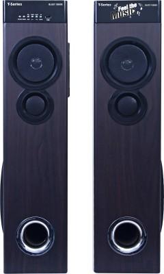 T-Series Blast 10500X Multimedia Tower Speakers System (Black) Bluetooth Home Theatre(Black, 2.0 Channel)