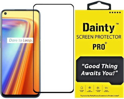 Dainty Edge To Edge Tempered Glass for Realme 7, Realme 7i, Realme Narzo 20 Pro, Realme 6, Realme 6i(Pack of 1)