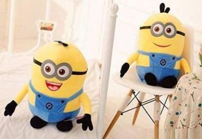 Ambey Minnion Soft Toy/Teddy   30 cm  Yellow, Blue    11 cm Yellow Ambey Soft Toys