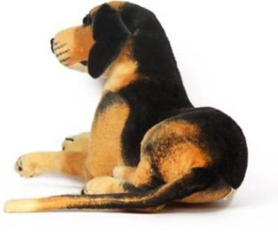 kartiktoys dog stuffed toy in sitting pose 32cm   32 cm Multicolor kartiktoys Soft Toys