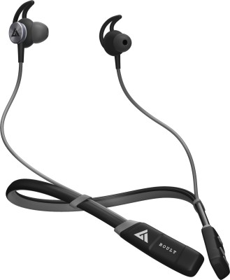 Boult Audio Pro Bass Curve Pro Bluetooth Headset(Grey, In the Ear)