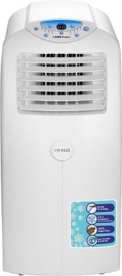 Croma 1.5 Ton Portable AC - White(CRAC1201, Copper Condenser)