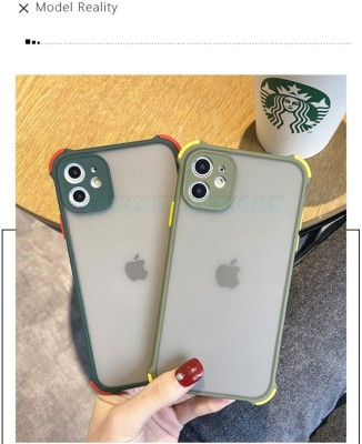 LOWCOST ASM Back Cover for Iphone 11 Pro Max(Green, Camera Bump Protector)