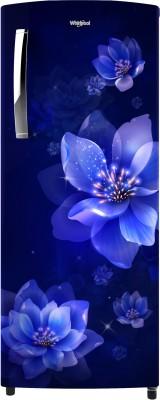 Whirlpool 200 L Direct Cool Single Door 4 Star Refrigerator(Sapphire Mulia, 215 IMPRO PRM 4S INV)