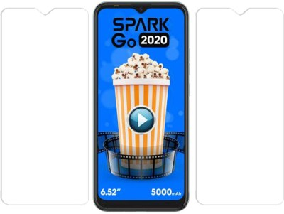 KARTRAY Tempered Glass Guard for Micromax IN 1b, Tecno Spark GO 2020, Tecno Spark 6 Go, Tecno Spark 7, Motorola E7 Plus, Motorola G8 Power Lite, Motorola G9, Motorola G10 Power, Motorola G30(Pack of 2)