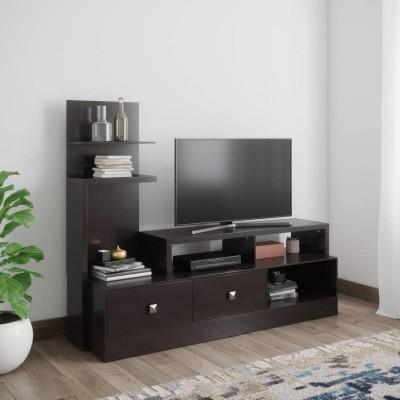@home by Nilkamal Aroy Engineered Wood TV Entertainment Unit(Finish Color - Wenge)