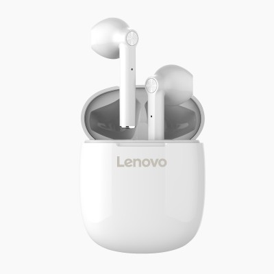 Lenovo HT30 Bluetooth Headset(White, True Wireless)