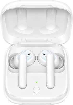 OPPO Enco W51 with Active Noise Cancellation Bluetooth Headset(Floral White, True Wireless)