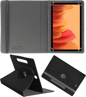 ACM Flip Cover for Samsung Galaxy Tab A7 LTE 10.4 inch(Black, Cases with Holder)