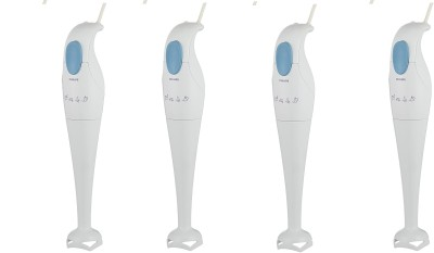 Philips HR1350 PACK OF 4 250 W Hand Blender(White)