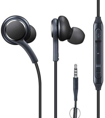 hitvill 100% Original Earphone For All Smart Phones Great Bass Wired Headset(Black, In the Ear)