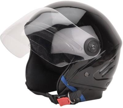 GTB TRACK ISI HELMET-BLACK Motorbike Helmet(Black)