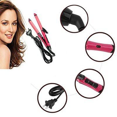 EASY HAI NHC-2009 Hair Straightener(Pink)