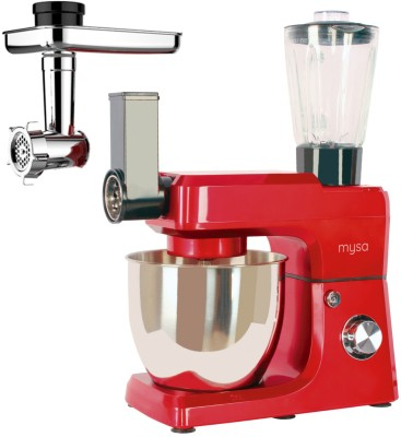 Mysa SM-1501BM 1200 W Stand Mixer(Red)