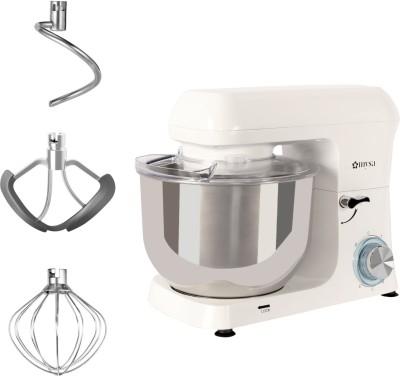 Mysa SM01516 1400 W Stand Mixer(White w/ Splash Guard)
