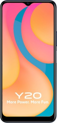 Vivo Y20 (Obsidian Black, 64 GB)(6 GB RAM)