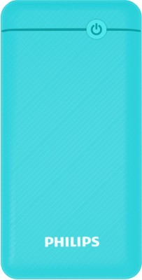 PHILIPS 10000 mAh Power Bank (18 W, Quick Charge 3.0)(Blue, Lithium Polymer)