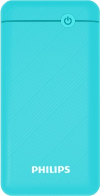 Philips 20000 mAh Power Bank (Quick Charge 3.0, 18 W)(Blue, Lithium Polymer)