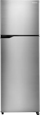 Panasonic 307 L Frost Free Double Door 3 Star (2020) Refrigerator(Silver, NR-MBG31VSS3)