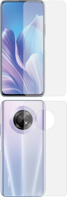 Treecase Front and Back Screen Guard for Huawei Enjoy 20 Plus 5G Front And Back Screen Guard / Huawei Enjoy 20 Plus 5G(Pack of 2)