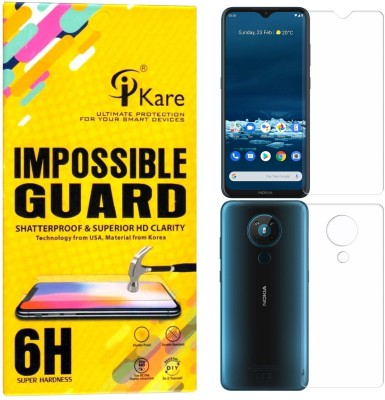iKare Front and Back Screen Guard for Nokia 5.3(Pack of 2)