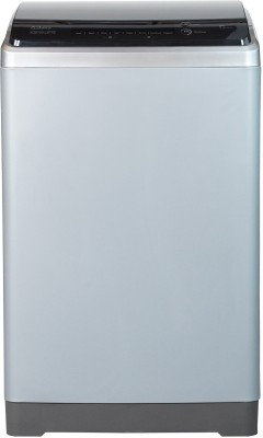 Galanz 10 kg Quick Wash, Touch Panel Fully Automatic Top Load Silver(XQB100-L5PTE)